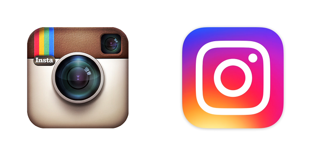 Evolución logotipo Instagram